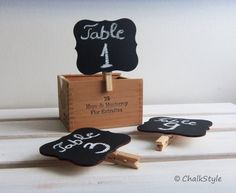 Your place to buy and sell all things handmade Chalkboard Table Numbers, Chalkboard Wedding, Wedding Looks, Fall Wedding, Wedding Fun, Wedding Bells, Dream Wedding, Wedding Ideas, Favor Tags
