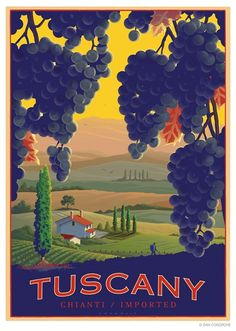 For Art on Gallery Walls, collectible Vintage Posters. Illustration from Dan Cosgrove. So amazing what he can do. Vintage Italian Posters, Vintage Travel Posters, Vintage Postcards, Retro Posters, Old Poster, Poster Ads, Photo Vintage, Vintage Art, Vintage Style
