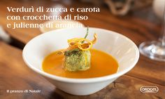 Il pranzo di natale: crema di #zucca e #carote