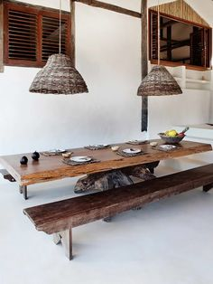 Mesa de Jantar Rustica