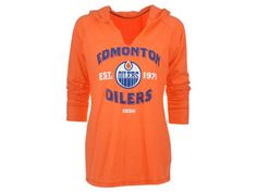 Edmonton Oilers Reebok NHL Women's Hockey Arches Lightweight Hoodie