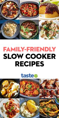 Slow Cooker Recipes Family, Slow Cooker Freezer Meals, Slow Cooked Meals, Crock Pot Slow Cooker, Easy Family Meals, No Cook Meals, Crockpot Recipes, Cooking Recipes, Best Slow Cooker