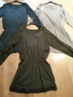 Vestidos raso&algodón