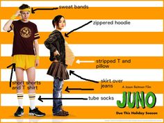 juno costume | DIY Juno Halloween Costume  sc 1 st  Pinterest & 24 Halloween Costumes Inspired by Fave School Movies and Shows ...