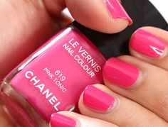 Chanel Pink Tonic Swatch | Makeup and Beauty Blog