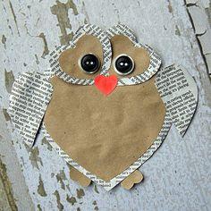 DIY: Cute Heart Owl Valentine