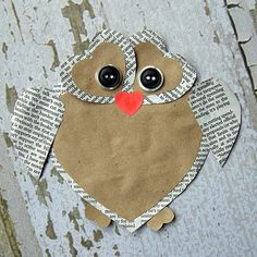 DIY: Cute Heart Owl Valentine