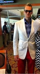 kentucky derby white suit - Google Search