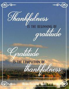 Henri Frederic Amiel quote  #gratitude
