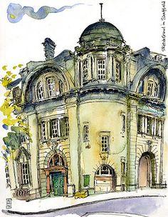 Lynne Chapman - Sheffield-old-Post Office