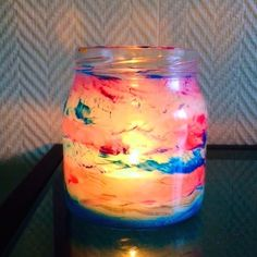 This little light of mine, im gonna let it shine! check out how you can make these cute candle holders