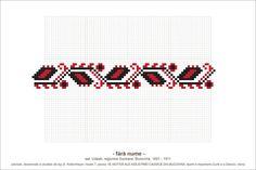Semne Cusute: din BUCOVINA Creative Embroidery, Folk Embroidery, Cross Stitch Embroidery, Embroidery Patterns, Cross Stitch Borders, Cross Stitch Patterns, Beading Patterns, Pixel Art, Needlework
