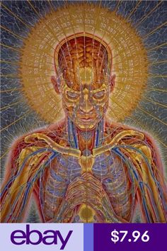 148 Best Alex grey art paintings images in 2019 | Alex gray