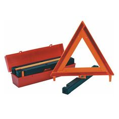 Visit the Home Depot to buy Safety Flag Highway Triangle Warning Kit HWK