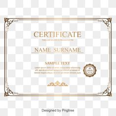Red certificate border texture PNG and PSD Certificate Background, Certificate Border, Certificate Design Template, Flower Border Png, Floral Border, Rose Gold Brushes, Image Hd, Golden Pattern, Creative Background
