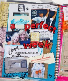 Just discovered Smash Books. I will most definitely be using this to collage my mementos for next semester!