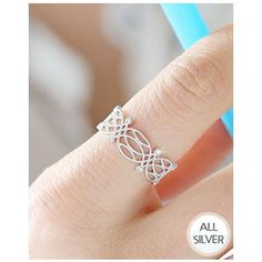 Buy Miss21 Korea Openwork Silver Open Ring at YesStyle.co.uk! Quality products at remarkable prices. FREE SHIPPING to the United Kingdom on orders over £ 25.