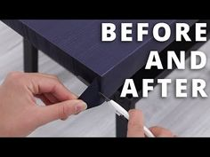 HVORDAN MONTERE KONTAKTPLAST - Before and after Contact Paper Makeover - YouTube Contact Paper, Youtube, Diy, Living Room, Bricolage, Do It Yourself, Fai Da Te, Diys, Youtube Movies