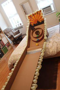 DIY : Cardboard Skeeball!