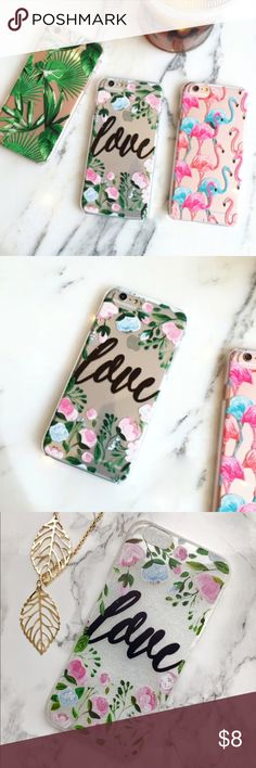 🎄HOLIDAY SALE🎁 Love iPhone 6/6s phone case Only one available. Selling in the love floral pattern. Fits iPhone 6 or 6s! Price firm unless bundled. (Not brand listed - just for exposure) Urban Outfitters Accessories Phone Cases
