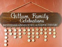 Birthday/ Anniversaries/ Celebration  board