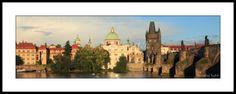 Panoramic Pictures, Praha, Prague Czech, Czech Republic, Fine Art Photography, Taj Mahal, Fine Art Prints, Bridge, River
