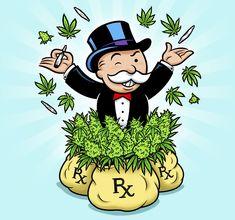 Cannabis Connoisseur & an Entrepreneur? Cannabis, Marijuana Art, Medical Marijuana, Arte Dope, Dope Art, Stoner Art, Weed Art, Cartoon Tattoos, How To Get Rich