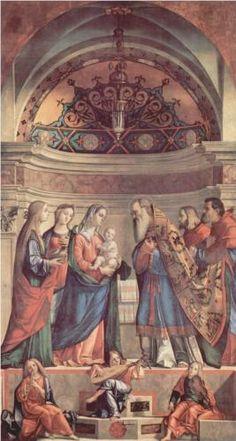 Presentation in the Temple - Vittore Carpaccio