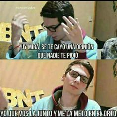Desconocido:Magcon es un asc. Reaction Pictures, Funny Pictures, One Direction Jokes, James And Alyssa, 2017 Memes, Youtube Memes, Funny Quotes, Funny Memes, Daddy