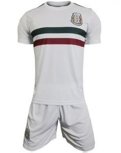 329e6c417b9 Mexico National Team 2017-18 Season Away White Soccer Kit Mexico National  Team 2017-18 Season Away White Soccer Kit