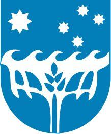 Flying Fish Cove, Capital of Christmas Island (Australia), Population: 1493 City Logo, Christmas Island, Coat Of Arms, Identity, Countries, Flags, Islands, Australia, Fish
