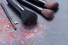 Make up brushes by Neirfy on @creativemarket