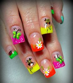 2014 spring nails | Awesome Spring Nail Art Designs Ideas 2014 2 Awesome Spring Nail Art ...