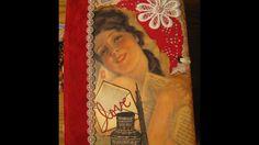Vintage Love Letters Junk Journal