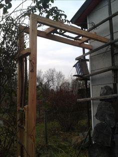 Rosenbogen Modern wires on pergola radlett contemporary garden