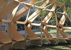 FORMAKERS - KERF PAVILION / MIT architecture