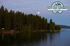 North Shore Campground and RV Park located in Northern California in Plumas county in a town called Lake Almanor.