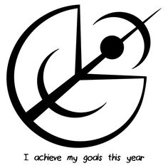 """Sigil Athenaeum - """"I achieve my goals this year"""" sigil requested by anonymous You are in the right place about Sig - Wiccan Spell Book, Wiccan Spells, Magic Spells, Witchcraft, Wiccan Magic, Magic Symbols, Viking Symbols, Reiki, Halloween Symbols"""