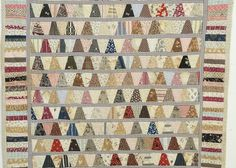 Amish Quilts, Old Quilts, Antique Quilts, Small Quilts, Vintage Quilts, Vintage Paper, Crib Quilts, Hexagon Quilt, Hexagons