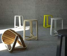 imm cologne 2012: 'Jo' stool by Eric and Johnny Design Studio Dailytonic