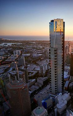 Melbourne, Eureka Tower Places In Melbourne, Melbourne Travel, Melbourne Victoria, Victoria Australia, Cool Places To Visit, Places To Travel, Eureka Tower, Australian Continent, City Wallpaper