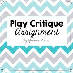 Critique assignment