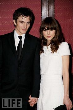Keira Knightley and Rupert Friend: Over After five years together, the British actors (who met on the set of Pride and Prejudice) have split up, her father tells The Sun.
