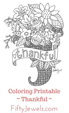 Enjoy hours of coloring with these incredible hand drawn illustrations. Each is unique and hand crafted by the artist. Print as many copies as you like to share with family and friends, only $1.99! Click through to see the entire collection. www.ShopFiftyJewels.com