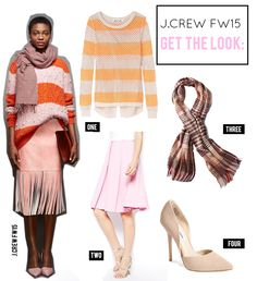 Get the Look for Less: J.Crew FW15 Collection | Striped Sweater