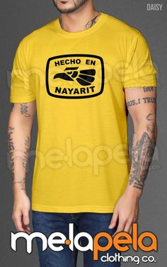 Hecho En Nayarit, (Hecho En Mexico) Adult Size T-Shirts
