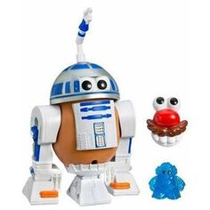 Senhor cabeça de batata Star Wars 2 modelos. - R$80,94