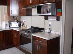 Cocinas integrales modernas para casas peque as color for Cocinas super pequenas