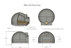 Let us design you a top-of-the-range wood-fired pizza oven, or buy a brick & clay pizza oven kit you can build for yourself. Order your oven today!