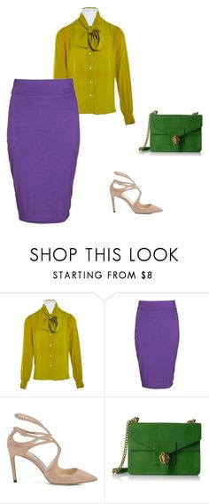 """""""1"""" by rodgerixa on Polyvore featuring мода, Yves Saint Laurent, Boohoo и Anne Klein"""
